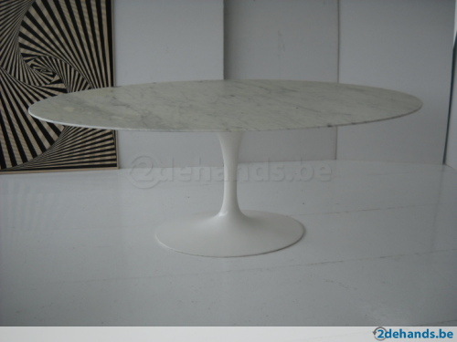Ovale eettafel tweedehands home design idee n en meubilair inspiraties - Tafel knoll ...