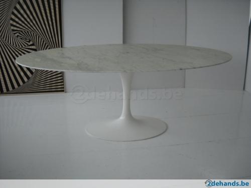 Saarinen Tafel Ovaal : Ovale saarinen tulip tafel kopen eettafels